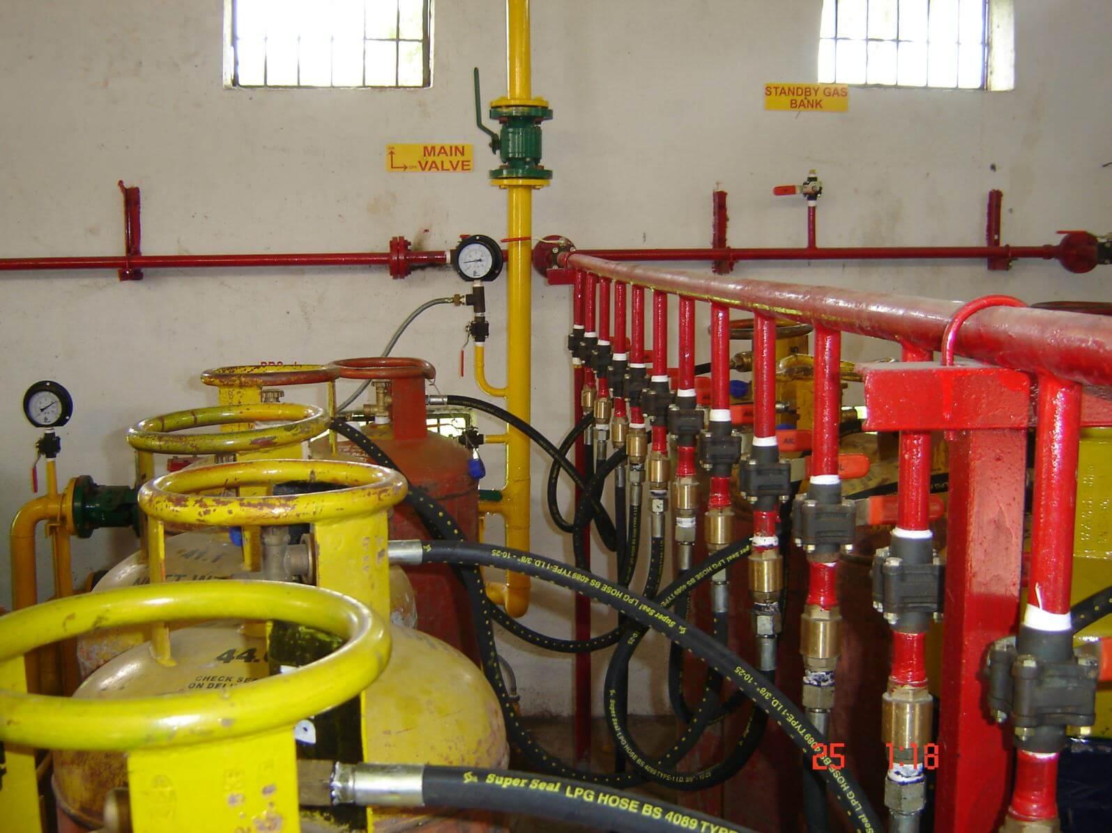 LPG Lot System installation
